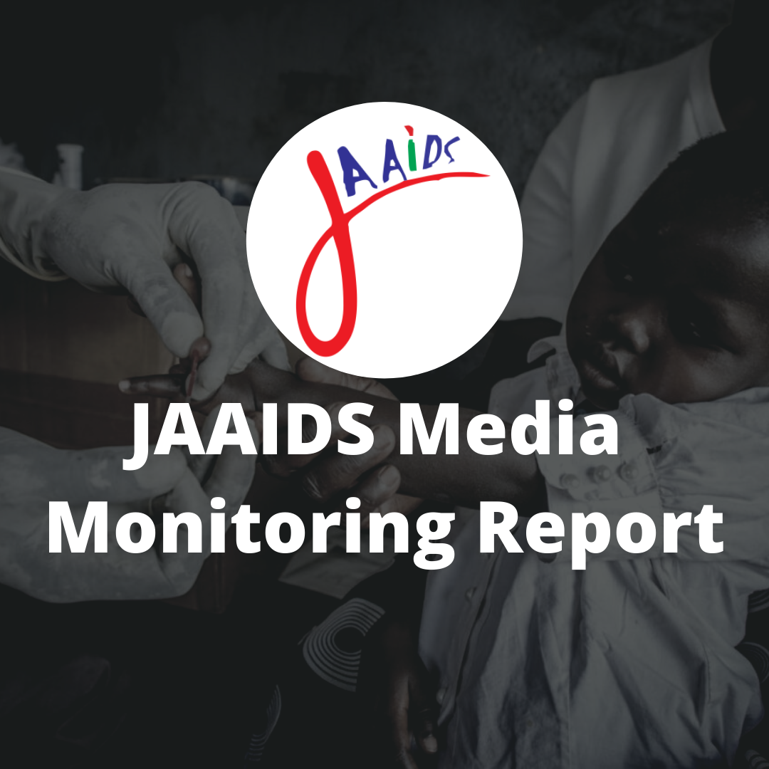 JAAIDS Media Monitoring Report 2